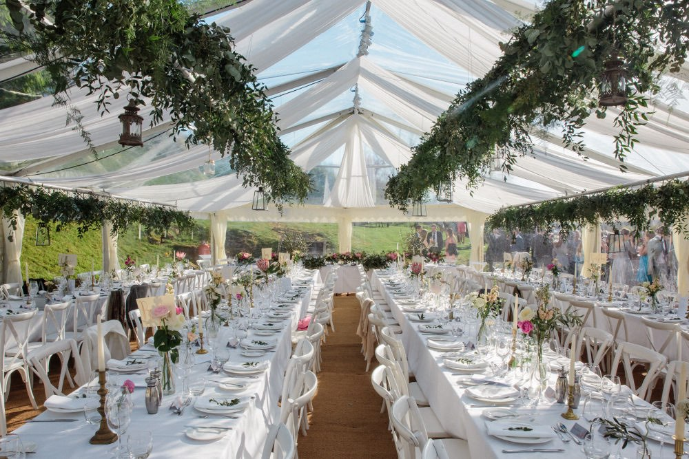 A completely clear marquee – Abbas Marquees