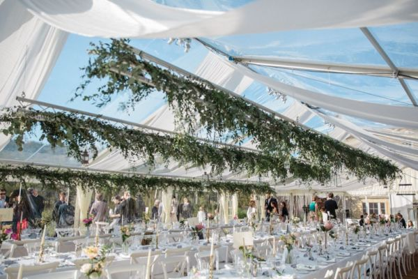 Pippa Middleton Wedding Marquee.A Completely Clear Marquee Abbas Marquees